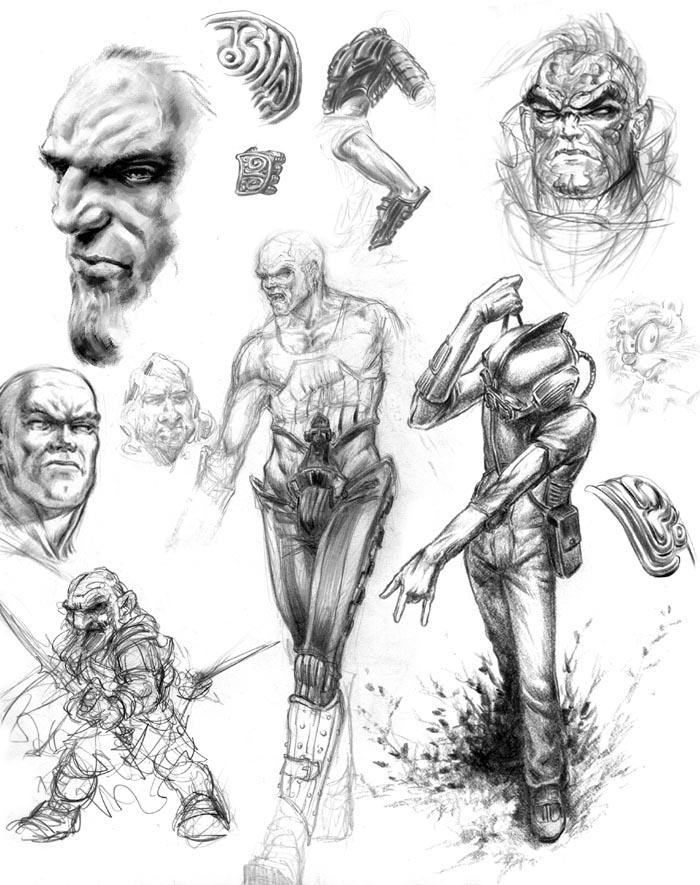 Robolus Sketchbook! 01-17